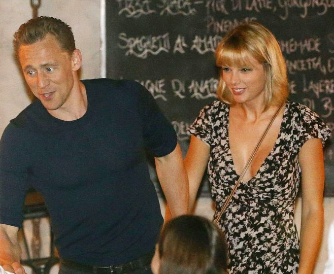 Taylor Swift ir Tomas Hiddlestonas