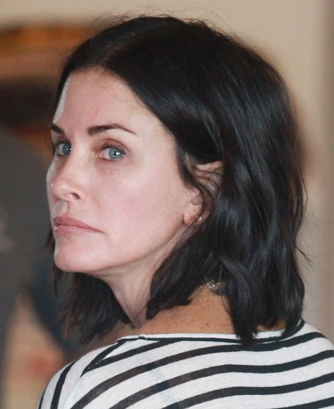 Courteney Cox dabar